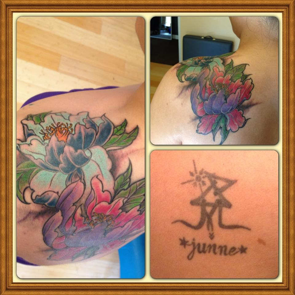 cover up of tattoo